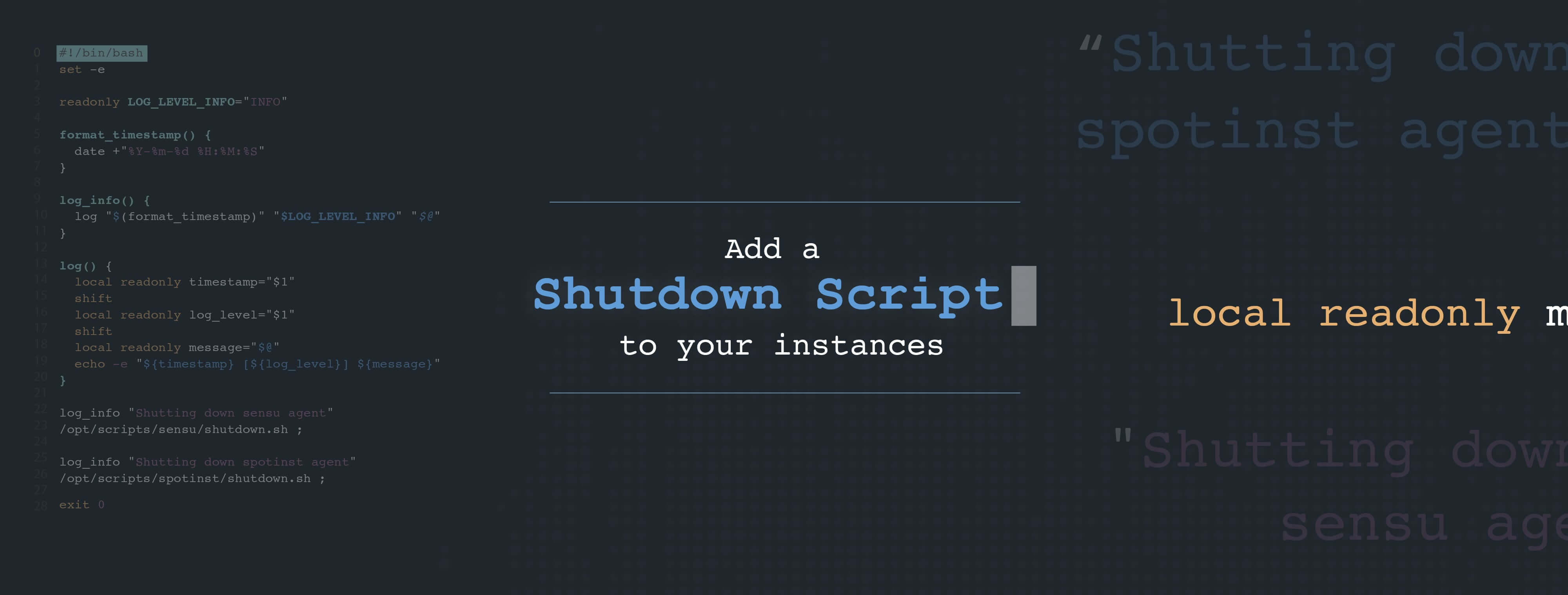 New Feature: Shutdown Scripts for Elastigroup