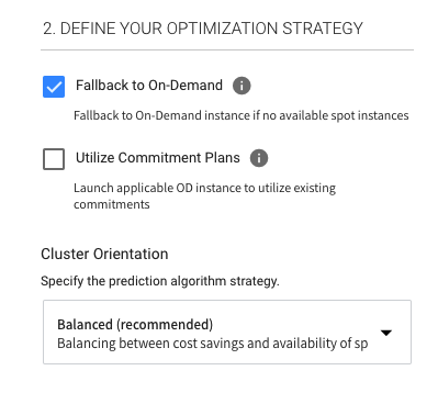 use on-demand, reserved and spot instances in a single cluster