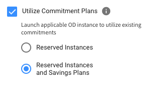 include AWS savings plans and RIs in cluster