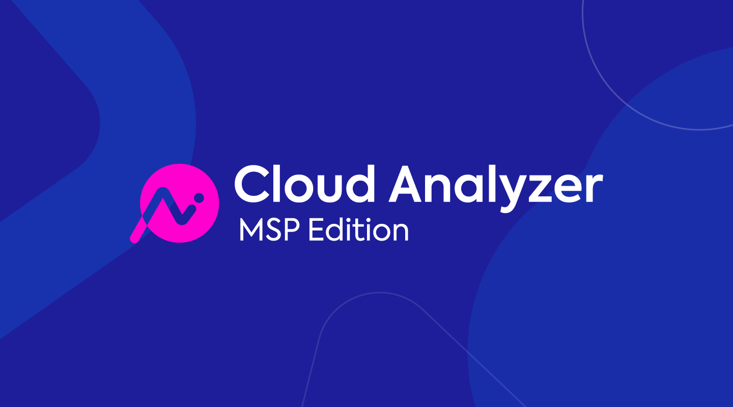 Cloud Analyzer for AWS Managed Service Providers blog